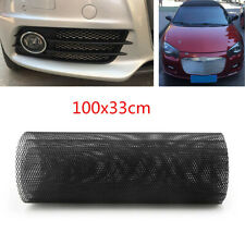 "Universal 40""x13"" Black Aluminum Car Vehicle Body Grille Net Mesh Grill Section"