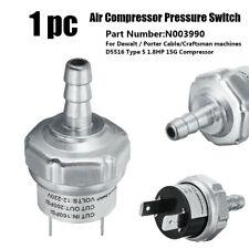 Air Compressor Pressure Switch For Dewalt N003990 D55168 Porter Cable