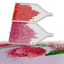 10Pcs Diamond Painting Drill Plate Plastic Tray Tool Kits Rhinestone Storage New