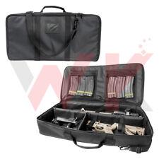 "Tactical Discreet AR-15 M4 Rifle Carbine Case 16"" Barrel Padded PALS PVC Black"