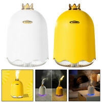 250ML USB Essential Oil Diffuser Humidifier Air Aromatherapy LED Ultrasonic Arom