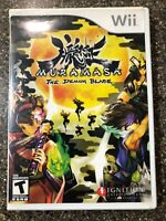 Muramasa: The Demon Blade - Nintendo Wii - Complete w/ Manual NM Disc Free Ship