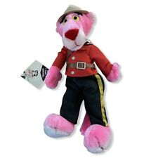 Vintage Pink Panther Plush 80's 1989 25th Anniversary Mighty Star Mountie Euc