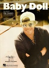 Baby Doll by Pat Green for Piano Vocal Guitar  NOS  OUT OF PRINT