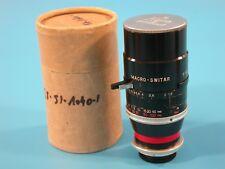 Kern - Paillard Macro-Switar 75mm f-1,9 C-Mount Lens