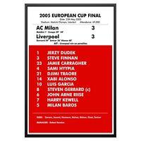 Celtic Lisbon Lions Final Whistle Euro Cup 1967 POSTER