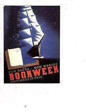 Unframed Art Poster Book Week Art New Books New World Ship (293m)