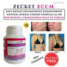 Breast Enlargement Enhancement Natural Female Hormones Pills Women Transgender.