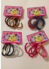 Multi Color Stretchy Rubber Hair Bands for Girls Ponytail Head Rope Ties