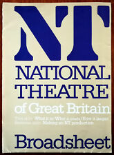 Collectable Theatre Posters For Sale Ebay
