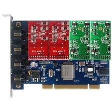 TDM400P 2 FXO+2 FXS card Asterisk Card For Issabel Freepbx Centos card tdm410p
