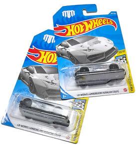 HotWheels LOT 2x LB-WORKS Lamborghini Huracan Coupe Mad Mike Graphic Camo