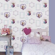 70-539 Graham and Brown Frozen Disney Elsa Frame Ana Blue Pink Feature Wallpaper