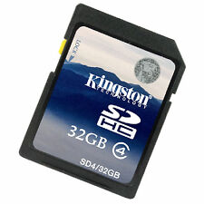 Kingston 32GB SDHC SD C4 Memory Card SD4 for Camera and Camcorder