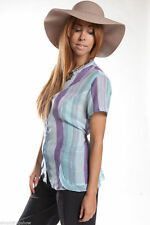 Per Una Semi Fitted Blouses Striped Tops & Shirts for Women