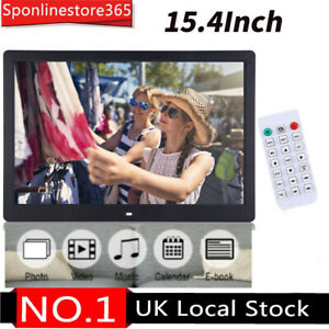 """Digital Photo Frame 15.4"""" HD Touch Screen MP4 Movie Player Picture Frames"""