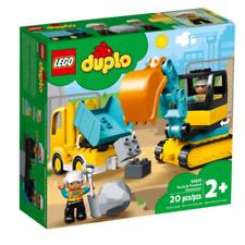 LEGO DUPLO Truck & Tracked Excavator Set (10931)