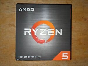 New AMD Ryzen 5 5600X Processor (4.6GHz, 6 Cores, Socket AM4) Inc. Wraith Cooler
