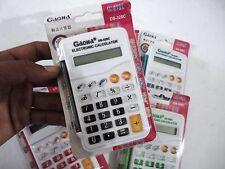 Mini Calcolatrice Elettronica Digitale DS-328C 8 Cifre Scuola Ufficio Colori dfh