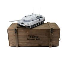 1:16 Torro Leopard 2A6 RC Tank 2.4GHz Infrared Metal Edition PRO United Nations
