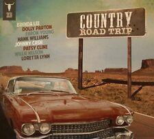 Country Road Trip 2 CD Johnny Cash Hank Williams Loretta Lyn Patsy Cline