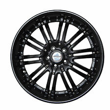 4 GWG Wheels 20 inch Black NARSIS Rims fits NISSAN ALTIMA COUPE 2008 - 2009