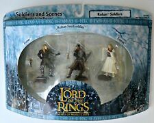 Lord of the Rings Rohan soldiers Eomer Eowyn footsoldier action figures NEW