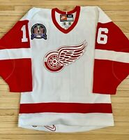 Authentic Nike Detroit Red Wings Vladimir Konstantinov 97 SCF Hockey Jersey-44