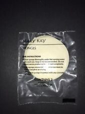 """Mary Kay LARGE ROUND SPONGES - 2 pack - Vintage - over 2"""" Diameter"""