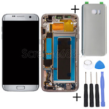 For Samsung Galaxy S7 Edge G935F LCD Touch Screen Display Digitizer+Frame Silver