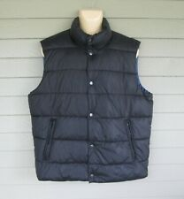 American Eagle Outfitters Mens Black Insulated Outerwear Vest Jacket  XL