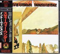 Stevie Wonder Innervisions JAPAN CD with OBI POCT-1810