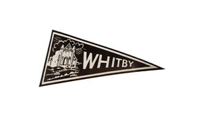 1960's Style Whitby House Yorkshire Pennant Classic Car Window Sticker