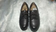 Rare Barbour Brown Leather Ladies Brogues Loafers Size 6 Worn Once Ex Con
