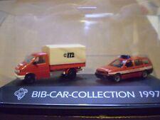 76 Herpa 1/87 Michelin Man Bib-Car-Collection 1997 Feuerwehr set PC