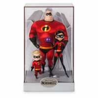 Disney Limited Edition Incredibles 2 Designer Doll Mr Incredible Dash Violet New