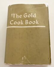 The Gold Cook Book Cookbook 1960 Master Chef Louis P De Gouy HB/DJ 13th Printing