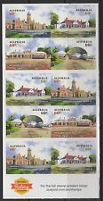 AUSTRALIA SGSB450(4076b) 2013 HISTORIC RAILWAY STATIONS BOOKLET MNH
