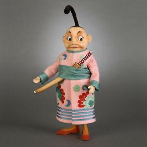 R. John Wright Japanese Brownie USA Handmade Collectible Doll