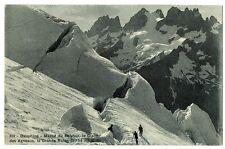 CPA 05 Hautes-Alpes Massif du Pelvoux Le Glacier des Agneaux et Grande Ruine