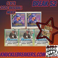 ATLANTA BRAVES 5 BOX BOWMAN MEGA/ TOPPS GALLERY RETAIL BASEBALL MIXER BREAK 52