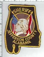 Jefferson County Sheriff (Alabama) 3rd Issue Uniform Take-Off Shoulder Patch
