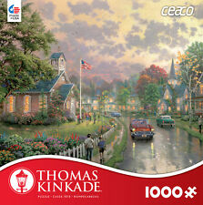 Thomas Kinkade - Morning Pledge - 1000 Piece Jigsaw Puzzle CEACO 3310-45