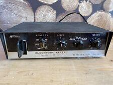 HI MOUND MODEL DA-1 ELECTRONIC KEYER MOSE CODE KEY