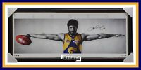 Josh Kennedy Signed Official Wings Print Framed West Coast Eagles - BRAND NEW