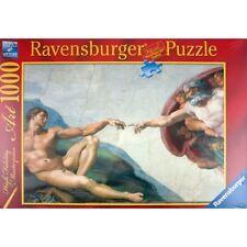 1000  PUZZLE DIE ERSCHAFFUNG DES ADAM RAVENSBURGER 155408