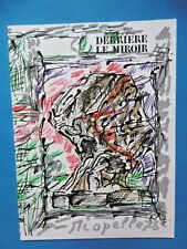 RIOPELLE  Derrière le Miroir n°218 DLM  4 Lithographies originales 1976 Montréal