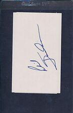 Phil Jackson Signed Index Card Autograph Auto JSA H81904