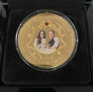 """Prince George 1st Birthday Photographic Proof """"Five Crown"""" 2014 #444 of 4,999"""