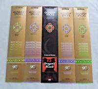 Gonesh Incense Sticks Variety Assortment - Lavender Jasmine - 5 Packs 20 Sticks
